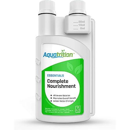 AQUATRITION Nutrient Supplements for Freshwater Planted Aquarium - Essentials Complete Nourishment 500 mL