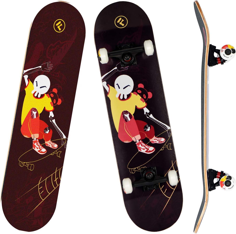 Max 80% Regular dealer OFF FREEDARE Skateboard 31 X 8 Standard for Inch Complete