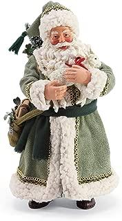 Department 56 Possible Dreams Santa Celtic Holiday Little Lamb Figurine, 10.5 Inch, Multicolor