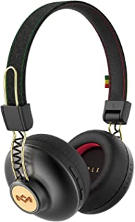 Marley Positive Vibrations 2 Auriculares Inalámbricos con Bluetooth Auriculares de Diadema Plegables, Manos Libres, Micróf...