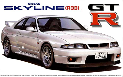 1 24 inch up series No.19 R33 Skyline GT-R 95 (japan import)
