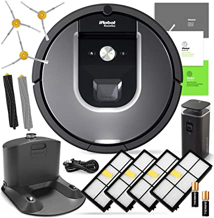 iRobot Roomba 960 Robotic Vacuum Cleaner Wi-Fi Connectivity + Manufacturers Warranty + 3 Extra