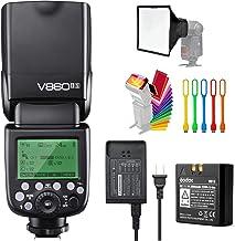 Godox V860II-S High-Speed Sync GN60 1/8000 2.4G TTL Li-ion Battery Camera Flash Speedlite Light Compatible for Sony Camera...