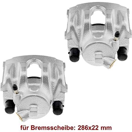 2x Bremssattel Vorderachse Vorne Links Rechts Für Bremsscheibe 286x22 Mm Auto