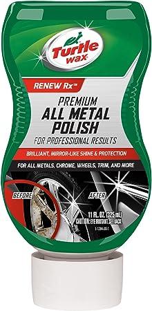 Turtle Wax T-284 Premium Grade Chrome & Metal Polish - 11 oz.: image