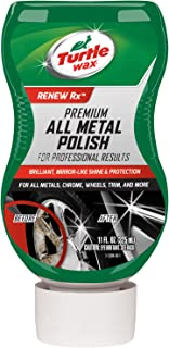 Turtle Wax T-284 Premium Grade Chrome & Metal Polish - 11 oz.