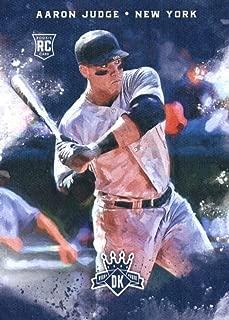 2017 Panini Diamond Kings Rookies #138 Aaron Judge New York Yankees Rookie Baseball Card