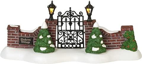 Department 56 Dickens Village Accessories Entry Gate Lit Figurine, 3