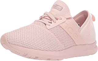 New Balance Women's Nergize V1 FuelCore Sneaker, Oyster Pink/Sea Salt, 9 B US