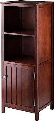 Winsome Brooke Storage/Organization, Antique Walnut