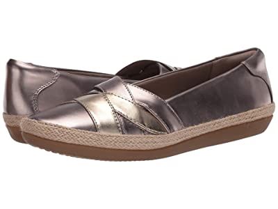 Clarks Danelly Shine (Pewter Synthetic Multi) Women
