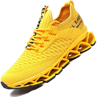 Vooncosir Women's Running Shoes Comfortable Fashion Non Slip Blade Sneakers Work Tennis Walking Sport Athletic Shoes