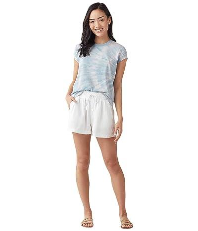 Splendid Campside Shorts (White) Women