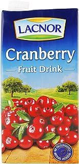 Lacnor Cranberry Fruit Drink, 1 Litre