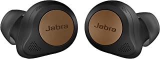 Jabra Elite 85t True Wireless Bluetooth Earbuds, Copper Black – Advanced Noise-Cancelling Earbuds with Charging Case for C...