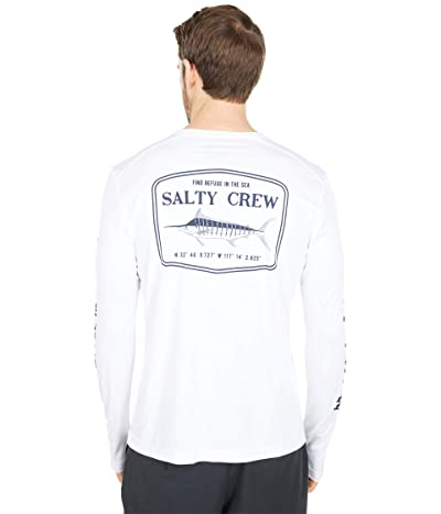Salty Crew Stealth Long Sleeve Rashguard (White) Men