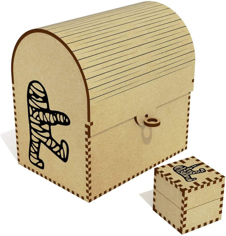 Popular brand in the world Azeeda 'Egyptian Mummy' Treasure Max 54% OFF Jewellery Chest TC00029175 Box