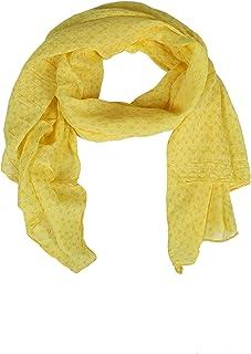 Zwillingsherz Seiden-Tuch Damen stylisches Muster - Made in Italy - Eleganter Sommer-schal für Frauen - Hochwertiges Seidentuch/Seidenschal - Halstuch und Chiffon-Stola Dezent