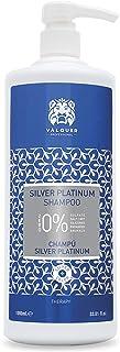 Válquer Profesional Champú Zero Silver Platinum. Sin sulfatos sal ni siliconas. Cabellos blancos grises y rubios