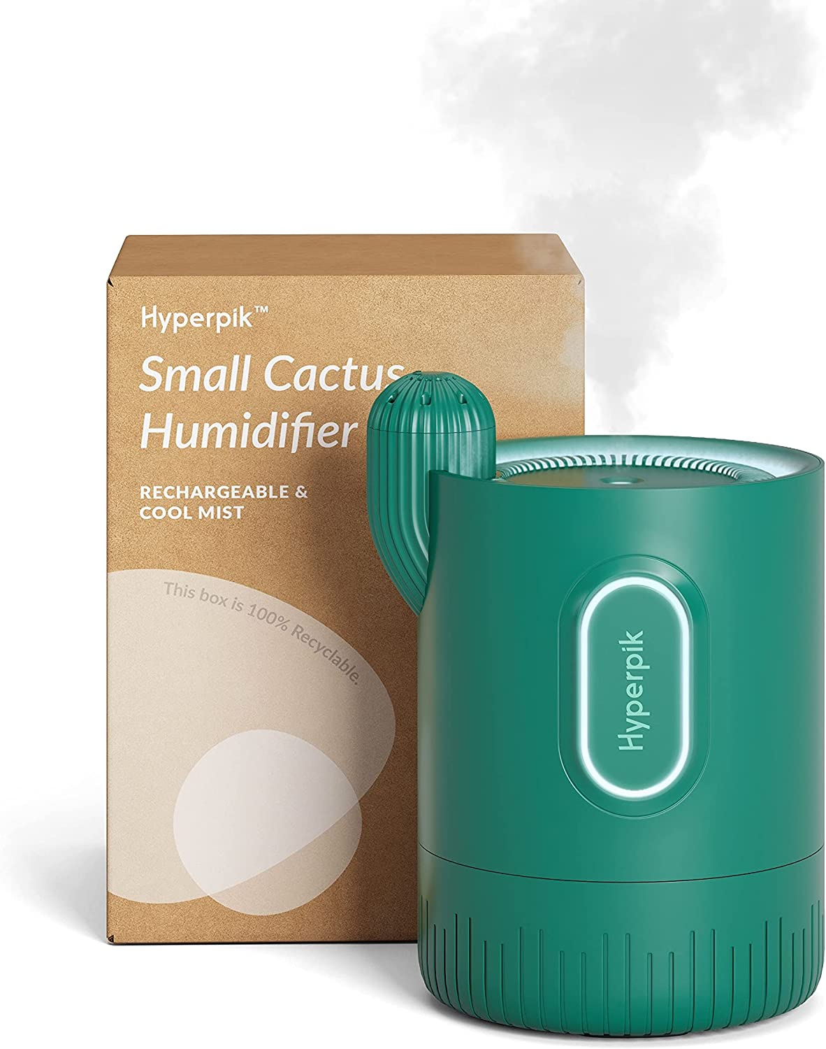 Hyperpik Max 46% OFF Portable Mini Popular brand Humidifier Pla Operated Battery Cordless