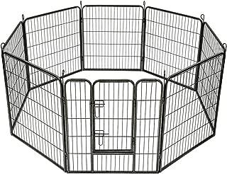 TecTake Parque para Mascotas Valla Libre Corriendo Jaula