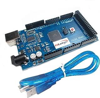 HiLetgo® Mega2560 R3 ATMEGA16U2 CH340 Microcontroller Board Development Board Compatible to Arduino With USB Cable