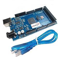 HiLetgo Mega2560 R3 ATMEGA16U2 CH340 Microcontroller Board Development Board Compatible to Arduino With USB Cable