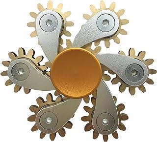 Fidget Spinner Fingertip Gyro Sprocket Sprocket Flywheel Fingertip ToyEDC Hand Spinners Stress Reducer Toy Can Spin alloy ...