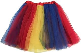 Multi Color Women's Costume Ballet Warrior Dash Run Tutu
