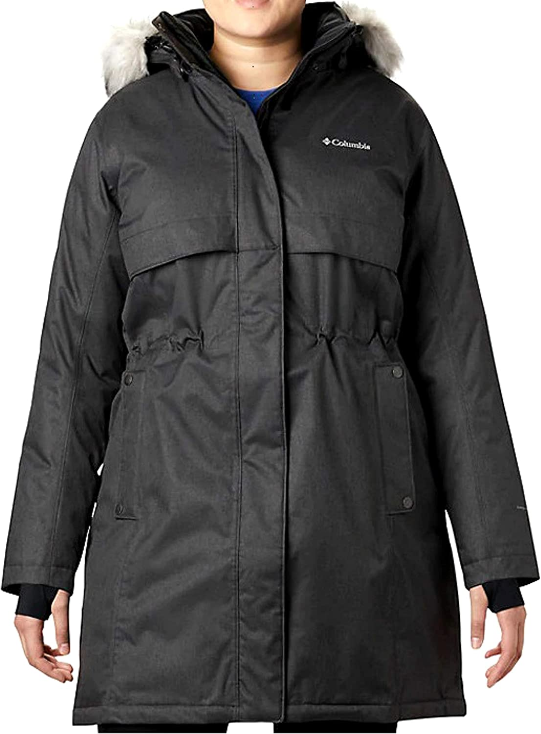 Columbia Women's Plus Apres High material Arson II Product Winter Omn Long Jacket Down