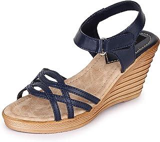 TRASE Gloria Wedges for Women - 3 Inch Heel