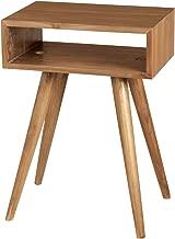 GUILD MASTER 7117001ET Teak Open Box Side Table In Euro Teak Oil