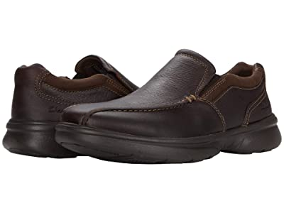 Clarks Bradley Step (Brown Tumbled Leather) Men