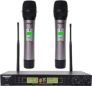Freeboss FB-U08 UHF Wireless Microphone System Dual Channel IR 2x100 Frequency Wireless Microphone (FB-U08)