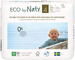 Nature Babycare Eco Pull On Pants, Size 4 (22count)