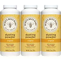 3-Pack Burt's Bees Baby 100% Natural Dusting Powder 7.5-Oz./Bottle