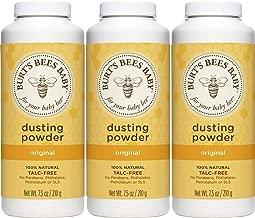 Burt's Bees Baby 100% Natural Dusting Powder, Talc-Free Baby Powder – 7.5..