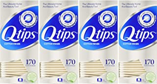 Q Tips Cotton Swabs Size 170s Q-Tips Cotton Swabs 170 Ct