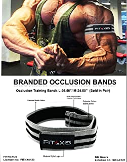FITAXIS Blood Flow Resistance Bands for Lean & Fast Muscle Gaining of Arms,Legs, beicip