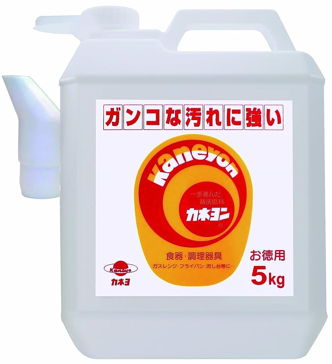 覚醒群がるレバー【大容量】 カネヨ石鹸 液体クレンザー カネヨン 業務用 5kg