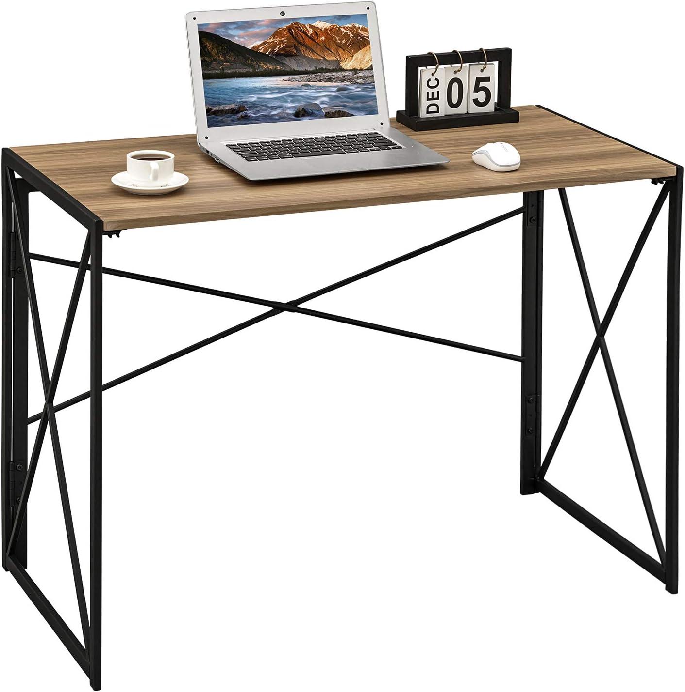 Coavas Computer Desk Writing Study Laptop Table Folding for 舗 メーカー公式