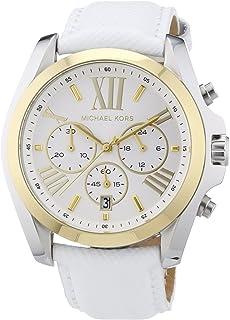 Michael Kors Women's Quartz Watch, Chronograph Display and Leather Strap MK2282