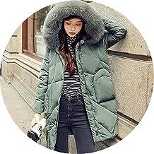 Ablaze Jin Winter Down Jacket Hooded Parka White Duck Down Coat Female Long Parkas Thicken Warm Clothing