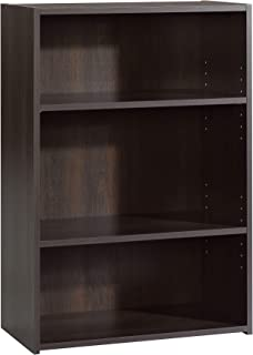 Sauder Beginnings 3-Shelf Bookcase, L: 24.57