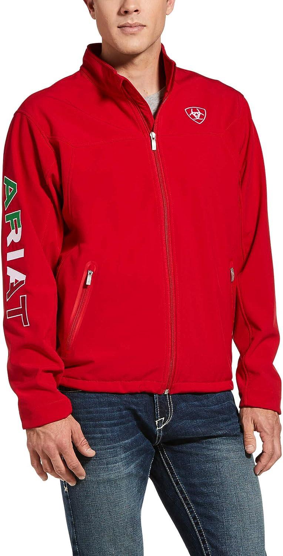 ARIAT Men's Mexico New Team Softshell Jacket - 10033525