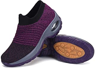 Mishansha Mujer Zapatos Deporte Zapatillas para Correr Mesh Calzado de Caminar,Gr.35-42 EU