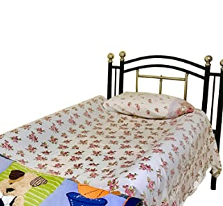 PilloCush Bumper Bed Rails for Children's -Soft, Comfy Side Bumpers for Protection from Falling Toddler- 2-Pack Non-Slip Safety Cushion Set with Zipper Sheet - Best Size for Any Age - 52'X7'X4.5