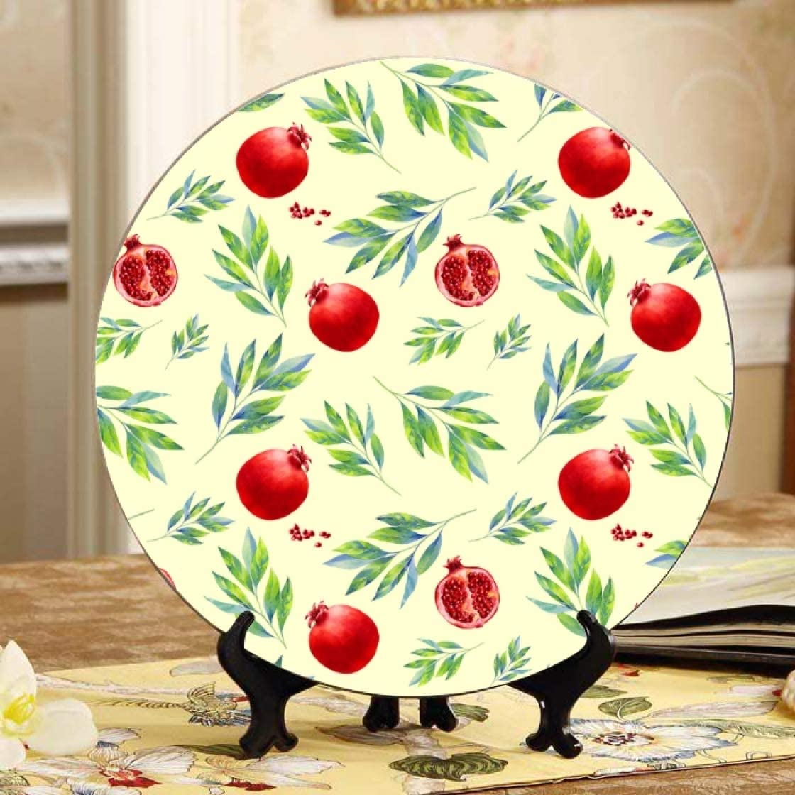 Price reduction Lajro Healthy Lifestyle Limited time cheap sale Or Diet Colorful Pretty Plates C Ceramic