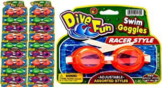 2GoodShop Kids Swimming Goggles (24 Pack Assorted) Styles Soft Training Leak-Proof Goggles for Kids Summer Pool & Sea Swim...