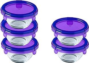 Pyrex Voedselcontainer, Borosilicaatglas, Transparant, 35 ml